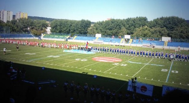 The Czech Republic vs. Slovakia on August 8th, 2013 at SKP Stadium in Bratislava