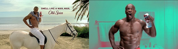 Old Spice advertisements featuring Isaiah Mustafa & Terry Crews