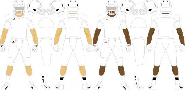 Find out where to purchase custom American football uniforms in Europe.